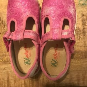 Naturino | T-Strap Sneakers, Girl's Size 13